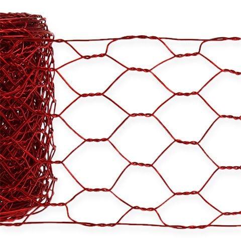 Ruban grillage 50 mm 5 m rouge