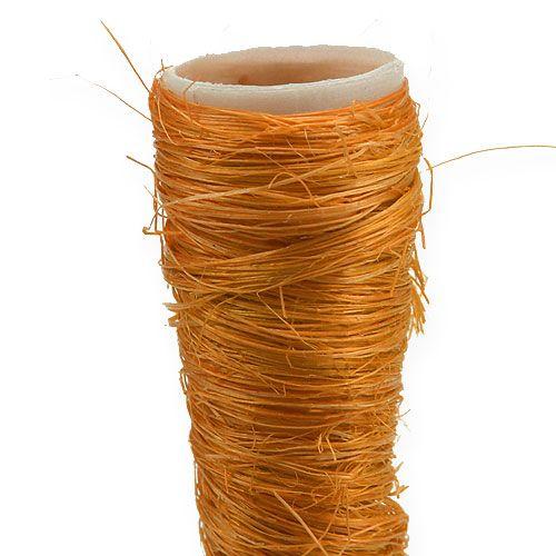 Vase pointu en sisal orange Ø 1,5 cm L. 15 cm 20 p.