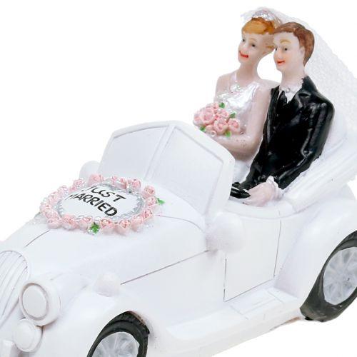 Tirelire voiture de mariés 14,5 cm