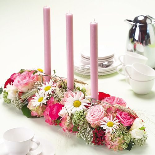 Décorette en mousse florale Super avec bandes adhésives 2pcs