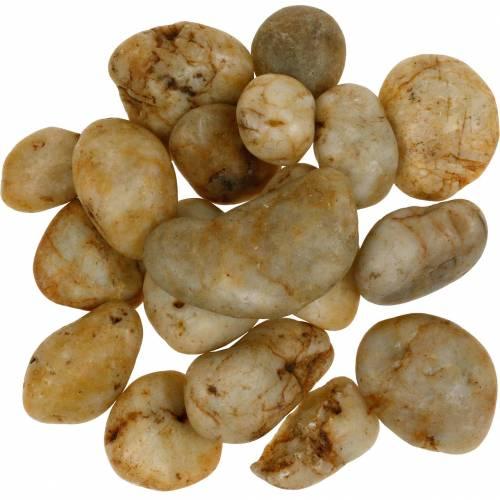 Crème naturelle galets de rivière 3-5cm 1kg