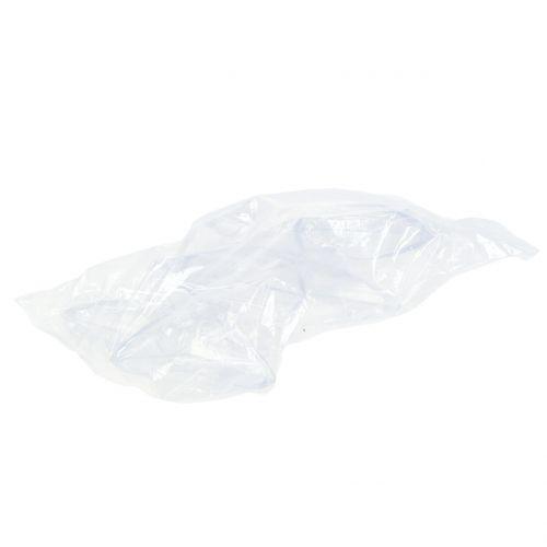 Étoile à suspendre transparente Plastique 12cm 3pcs