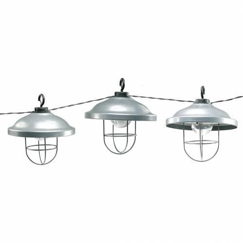 Guirlandes solaires à LED, brin d'éclairage extérieur