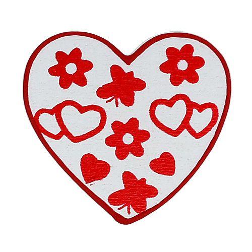 Sortez les cœurs. 3 cm 24 pièces