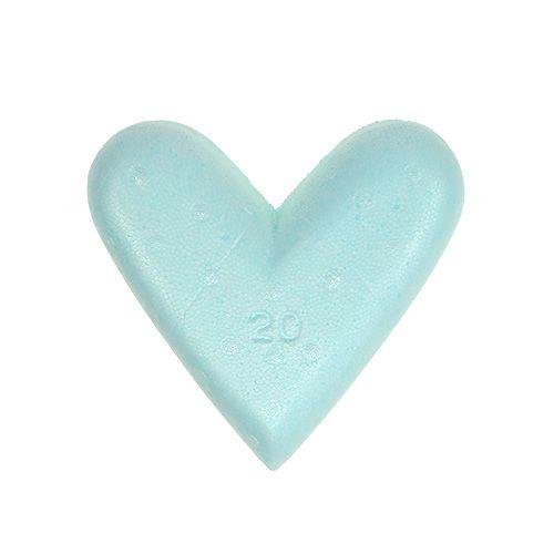 Coeur en polystyrène 20 cm 2 p.