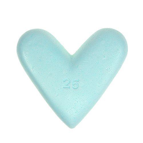 Coeur en polystyrène 25 cm 2 p.