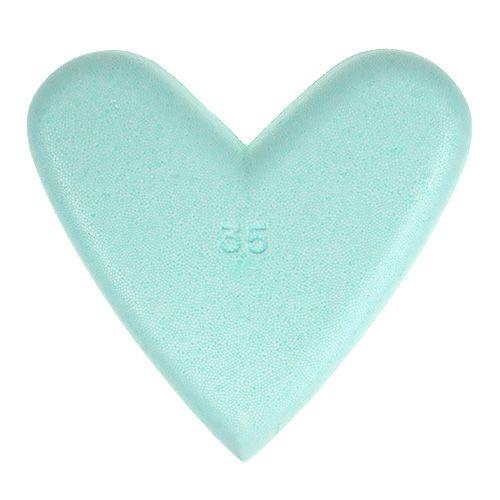 Coeur en polystyrène 35 cm 2 p.