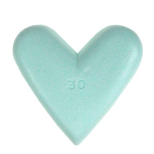 Coeurs en polystyrène 30 cm 2 p.