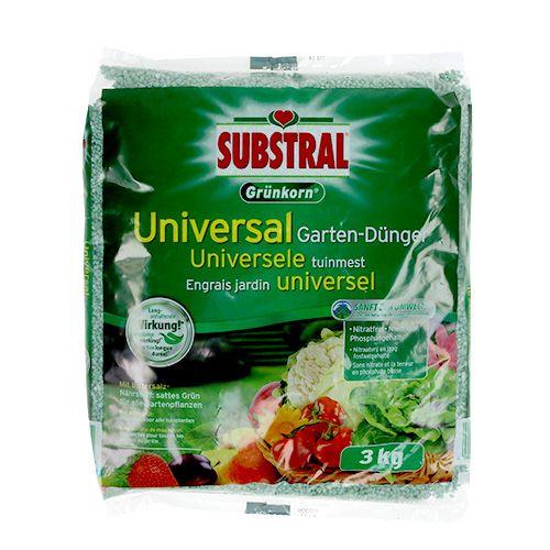 Engrais universel universel à grains verts m. Sel d'Epsom 3kg