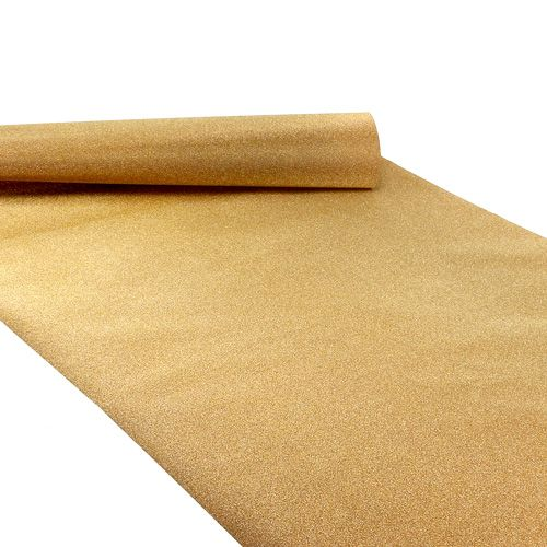 Chemin de table 50cm x 300cm or