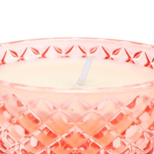 Bougie parfumée en verre Tropical Ø10cm