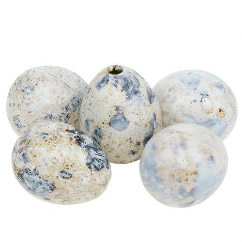 Œufs de caille blancs marbrés 3,5cm - 4cm 60pcs
