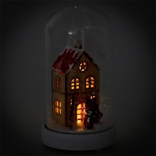 Décoration de Noël maison avec cloche Ø9cm H16,5cm