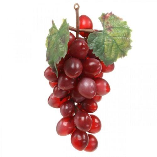 Raisins décoratifs rouges Raisins artificiels fruits décoratifs 15cm