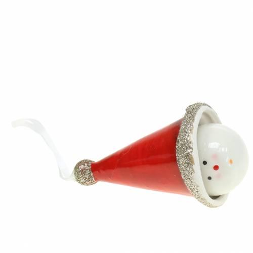 Décoration de Noël Cloche lutin 10cm 4pcs