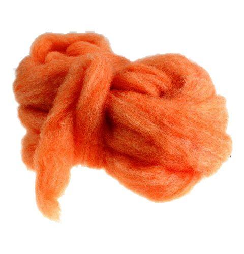 Rivet en laine 10m orange