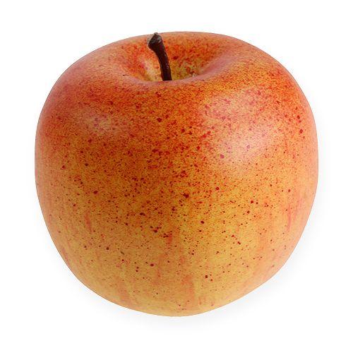 pomme d corative orange 8cm 6pi ce boutique en ligne de fleuriste supply et articles de d coration. Black Bedroom Furniture Sets. Home Design Ideas