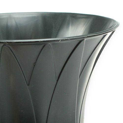 Vase funéraire 37 cm 5 p.