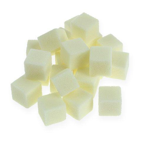 Crème mini-cube mousse humide 300p