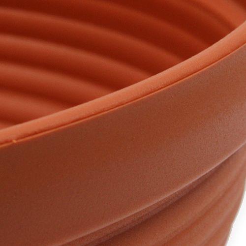 R-bol plastique terre cuite Ø 13cm - 19cm, 10pièces