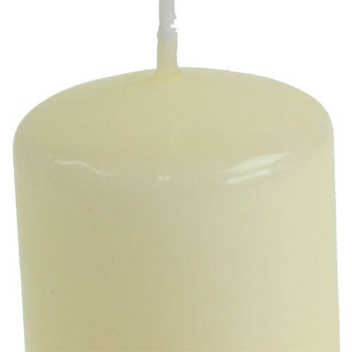 Bougie pilier 120/40 crème 24pcs