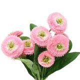 Bouquet de pâquerettes roses 24 cm 2 p.