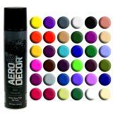 Bombe de peinture satinée de différents couleurs 400 ml