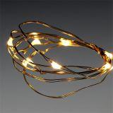 Guirlande lumineuse LED 10 pour batterie, blanc chaud