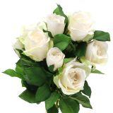 Bouquet de roses 48 cm rose clair