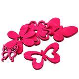 Mélange de figurines Rose vif Assortie 2cm - 4cm 72P
