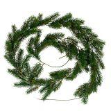 Guirlande de sapin 182cm vert pour extérieur et intérieur