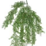 Branche de genévrier Deco avec des cônes verts 110cm