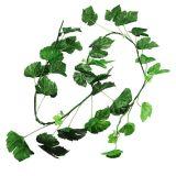 Guirlande de feuilles de vigne verte 2,7 m